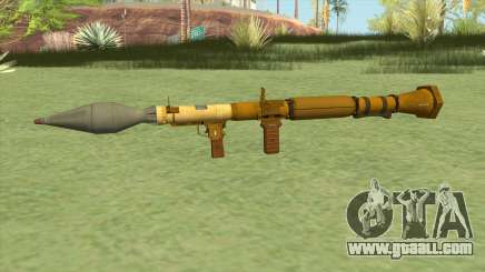 Rocket Launcher GTA V (Gold) for GTA San Andreas