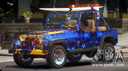 1988 Jeep Wrangler PJ3 for GTA 4