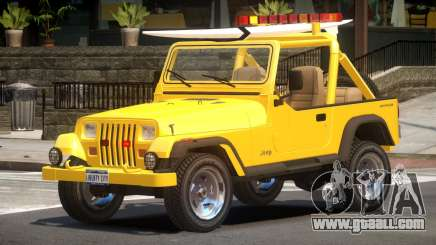 1988 Jeep Wrangler V1.0 for GTA 4