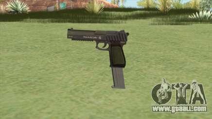 Pistol .50 GTA V (Green) Base V2 for GTA San Andreas