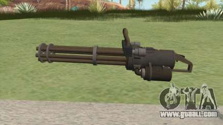 Coil Minigun (LSPD) GTA V for GTA San Andreas