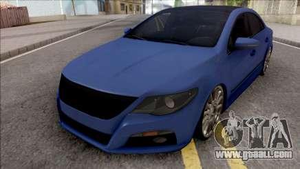 Volkswagen Passat CC v2 for GTA San Andreas
