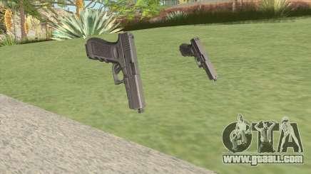Glock-17 (CS-GO Customs 2) for GTA San Andreas
