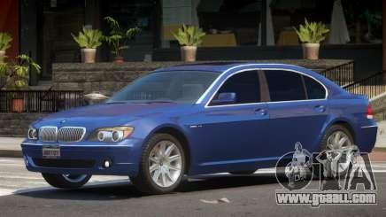 BMW 760Li E66 for GTA 4