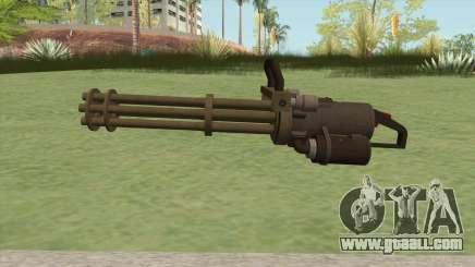 Coil Minigun (Army) GTA V for GTA San Andreas