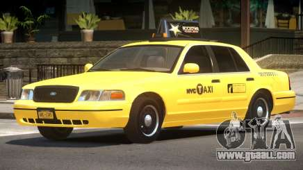 Ford Crown Victoria Taxi V1.2 for GTA 4