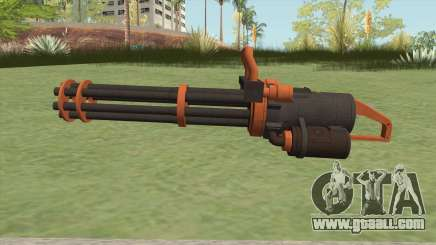 Coil Minigun (Orange) GTA V for GTA San Andreas