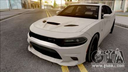 Dodge Charger SRT Hellcat 2019 Low Poly for GTA San Andreas