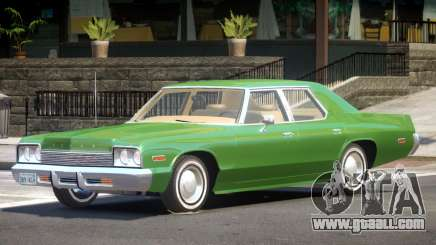 1974 Dodge Monaco V1.0 for GTA 4