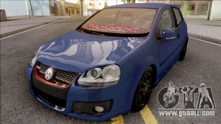 Volkswagen Golf Mk5 Low for GTA San Andreas