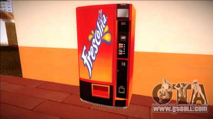 A vending machine Frescolita for GTA San Andreas