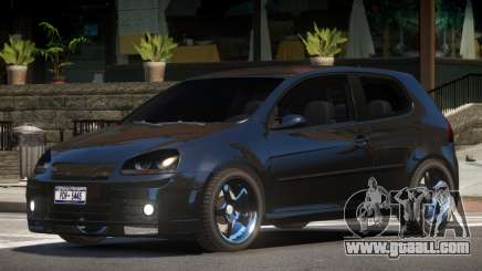 Volkswagen Golf V GTS for GTA 4
