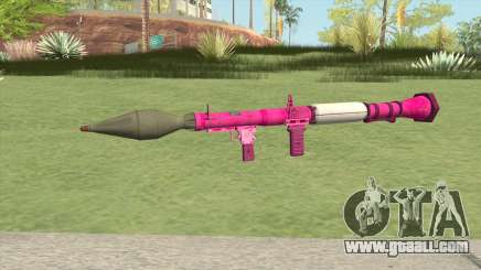 Rocket Launcher GTA V (Pink) for GTA San Andreas