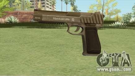 Pistol .50 GTA V (Army) Base V1 for GTA San Andreas