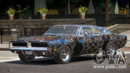 1968 Dodge Charger RT PJ4 for GTA 4