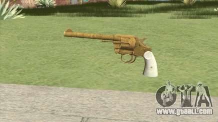 Double Action Revolver (Gold) GTA V for GTA San Andreas