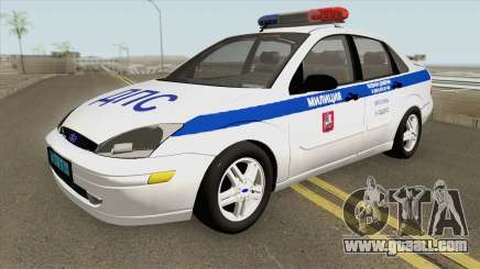 Ford Focus 2011 (Russian Police) for GTA San Andreas