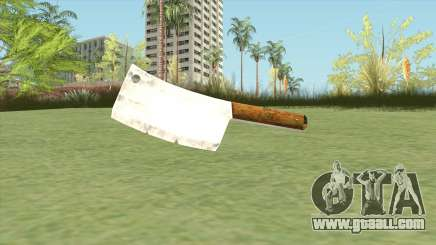 Meat Cleaver V2 (Manhunt) for GTA San Andreas