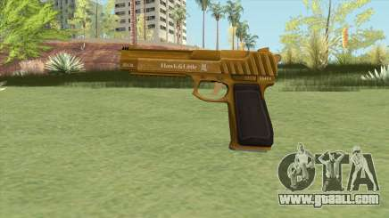 Pistol .50 GTA V (Gold) Base V1 for GTA San Andreas