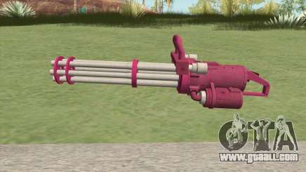 Coil Minigun (Pink) GTA V for GTA San Andreas