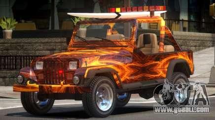 1988 Jeep Wrangler PJ1 for GTA 4