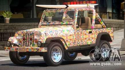 1988 Jeep Wrangler PJ5 for GTA 4