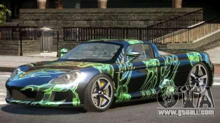 Porsche Carrera GT Sport PJ1 for GTA 4