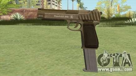 Pistol .50 GTA V (Army) Base V2 for GTA San Andreas