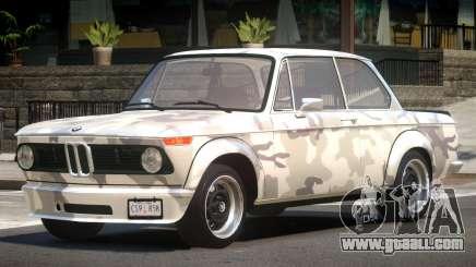 BMW 2002 GT PJ2 for GTA 4