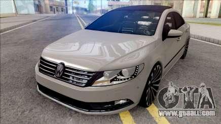 Volkswagen Passat CC Grey for GTA San Andreas