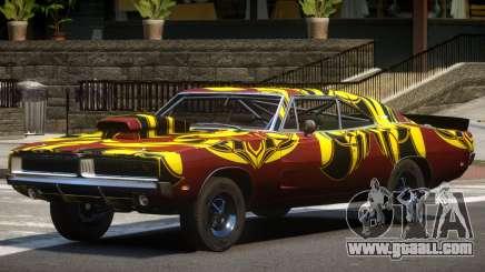 1969 Dodge Charger RT V1.0 PJ1 for GTA 4