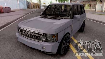 Land Rover Range Rover Superchargered 2008 v1 for GTA San Andreas