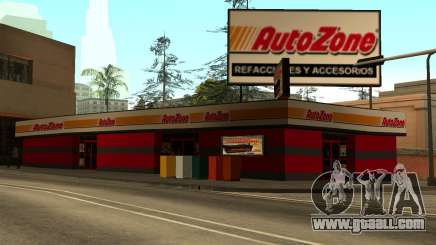 Mexican Autozone Store for GTA San Andreas
