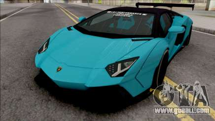 Lamborghini Aventador LP700-4 Roadster LW for GTA San Andreas