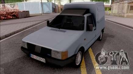 Fiat Fiorino Panel Van 1987 for GTA San Andreas