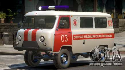 UAZ 39629 Ambulance for GTA 4