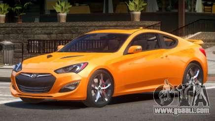 Hyundai Genesis GT for GTA 4
