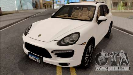 Porsche Cayenne Turbo 2014 for GTA San Andreas