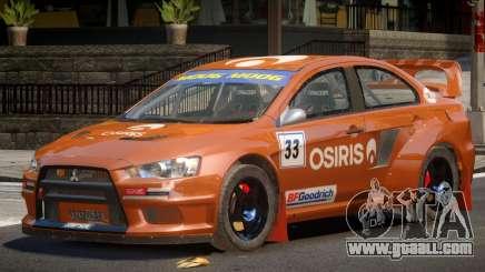 Mitsubishi Lancer GT for GTA 4