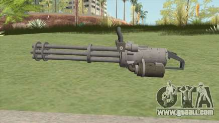 Coil Minigun (Platinum) GTA V for GTA San Andreas