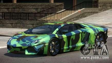 Lamborghini Aventador SS PJ3 for GTA 4