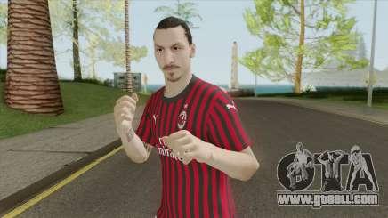 Zlatan Ibrahimovic (PES 2020) for GTA San Andreas