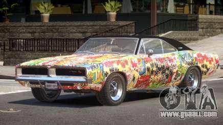 1968 Dodge Charger RT PJ5 for GTA 4