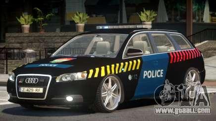 Audi S4 Police V1.0 for GTA 4
