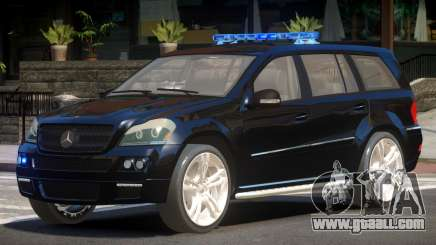 Mercedes GL450 Police V1.0 for GTA 4