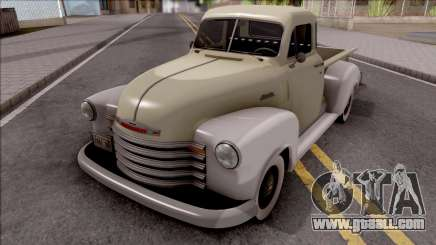 Chevrolet 3100 1951 for GTA San Andreas