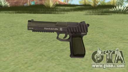 Pistol .50 GTA V (Green) Base V1 for GTA San Andreas