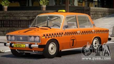 VAZ 2106 Taxi V1.0 for GTA 4