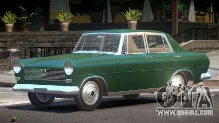 FSO Warszawa Sedan for GTA 4