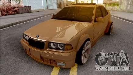 BMW 3-er E36 Wide Body for GTA San Andreas